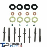 INJECTOR SEAL WASHER O-RING KIT FORD FOCUS FIESTA C-MAX FUSION 1.6 2004 ONWARD