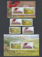 2005 IRELAND-CANADA = JOINT issue = FULL set = BIOSPHERE RESERVES = MNH-VF