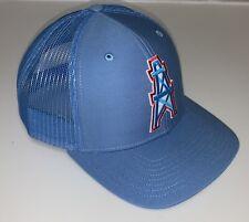 Houston Oilers Retro Snapback Cap Trucker Hat CLASSIC NFL LOGO Richardson