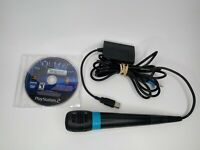 Sony PlayStation 2 PS2 Singstar Queen Singing Game, Microphone, & Adapter Bundle