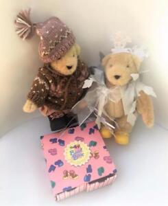 Muffy Vanderbear Retired 5 pc Lot Bears Snowflake LE Sleddin  Boot Box NABCO