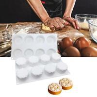 DIY Silikon Backform Mousse Kuchen Dekoration Kekse Form Blume Form Werkzeug