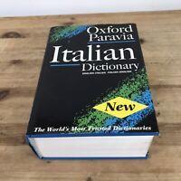 Oxford-Paravia Italian Dictionary Hardback Book