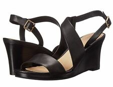 Cole Haan Womens Ravenna Wedge Open Toe Ankle Strap Casual Heels Dress Sandals