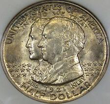 1921 Alabama Commemorative Half Dollar Choice BU ANACS MS-63..Flashy, Very Nice!