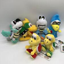 """6X Super Mario Plush Koopa Troopa Dry Bones Mecha-koopa Magikoopa Soft Toy 7"""""""