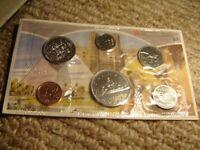 1983 Canada PL RCM Set (6 Coins UNC.)