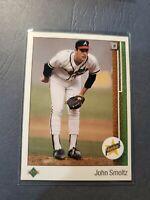 1989 Upper Deck John Smoltz Atlanta Braves #17 Baseball Card