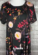 Lularoe L Floral Jessie Dress With Pockets