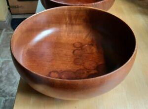 Turned Wooden Bowl - Imbuya