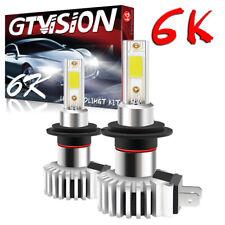 2400W H7 LED Headlight Bulb for Kia Optima Sedona Sportage Sorento High Low Beam