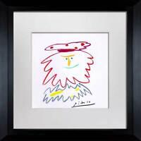 """Pablo PICASSO Lithograph  """"..Reyes Del Sur #3"""" Ltd. Ed. SIGNED Cat. ref. c116"""