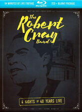 THE ROBERT CRAY BAND - 4 NIGHTS OF 40 YEARS LIVE. 2 CDs, 1 Blu-ray Disc Digipack