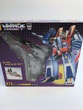 Takara Transformers Reissue Destron Starscream 22 Japanese NEW