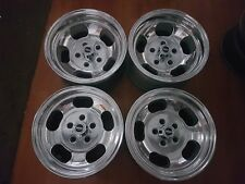 Aunger 14 x 7 14 x 8 jelly bean suit Holden HQ - WB GTS polished new nuts/caps