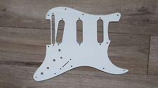 Roland USA Strat Guard Fender Stratocaster Pickguard Strat 1 PLY white VG