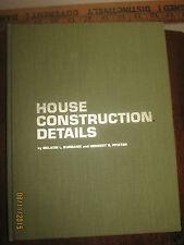 House Construction Details 1968 6th Edition Burbank Pfister