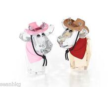 Swarovski Cowboy & Cowgirl Mos, Lt Ed- 2014 Crystal For Collectors MIB - 5004625