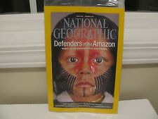 "NATIONAL GEOGRAPHIC January 2014  DEFENDERS OF THE AMAZON ""New in Plastic"""