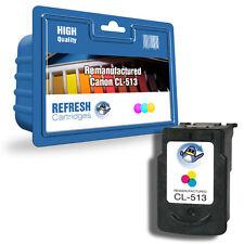 Refresh Cartridges Color CL-513 XL Tinta Compatible Con Canon Impresoras