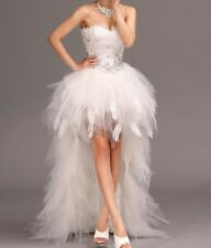 ☆ 2014- 63 New Robe de mariée mariage soirée wedding evening dress
