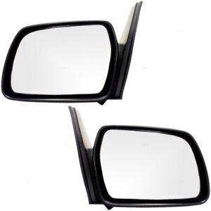 Chevrolet Geo Tracker Suzuki Sidekick 2 Door SUV Set of Side View Manual Mirrors