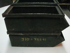 5 Vintage Industrial METAL DRAWERS steampunk storage parts bin organizer