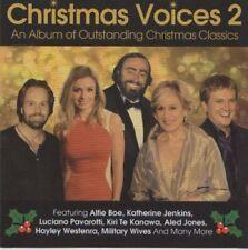 Christmas Voices 2 Alfie Boe Katherine Jenkins Pavarotti CHRISTMAS CLASSICS CD