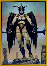 "1992 DUNGEONS & DRAGONS NEEVA PROMO CARD 7-1/4"" x 10"""