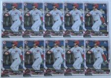 JONATHAN INDIA 2018 BOWMAN DRAFT (10) 1ST YEAR PROSPECT CARD LOT #BD-112