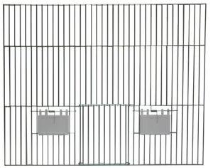Vorsatzgitter - Verzinkt  50x40 cm Art. 65078