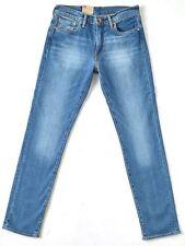 LEVI'S MEN'S 511 SLIM FIT COOL BLUE SUPER STRETCH JEANS (BNWT) W=30,L=32