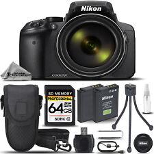 Nikon COOLPIX P900 Digital Camera 83x Optical Zoom WiFi +Case +Tripod- 64GB Kit