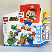 LEGO 71360 Adventures with Super Mario Starter Course Set New Open Damaged Box