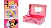Disney Kids Jewellery Box Christmas Gift Set
