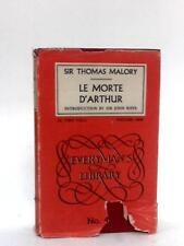 Le Morte d'Arthur (Everyman's libra (Malory, Thomas - 1953) (ID:42001)