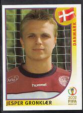 Panini Football - World Cup 2002 - Sticker No 95 - Denmark - Jesper Gronkjaer