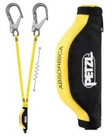 Petzl Absorbica-Y MGO 105/174 Double Lanyard+Hooks Safety Height Industrial L64