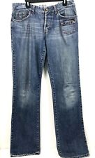 Dolce & Gabbana Men's 34x48 Distressed Jeans MD 10A0 Button Fly Authentic