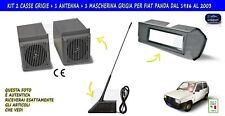 Kit audio fiat panda young casse con altoparlanti antenna mascherina autoradio