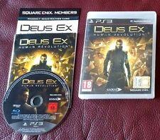Deus Ex Ps3 Perfetta 1a Stampa Italiana con Manuale Sconto EURO 5 su Spesa EU 50