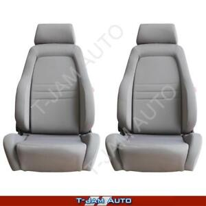 Explorer 4x4 4WD Bucket Seat Pair 2 x Grey Cloth ADR Approved Ford Territory