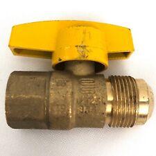 Brass Craft Gas Ball Valve 1/2'' RV Propane Shut Off New
