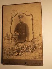 Lübeck - stehender Soldat in Uniform - Regiment IR 162 / KAB
