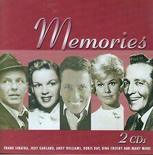 MEMORIES Sinatra Garland Doris Crosby Andy Williams Torme Mathis Gogi 2 CD set