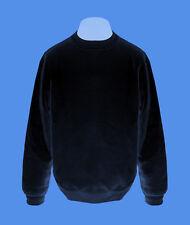 Pullover Mann Männer Sweatshirt Herren Pulli navy dunkelblau L XL B&C unifarben