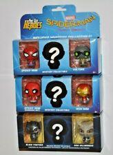 Funko Pint Size Heroes Marvel Spider-Man+Black Panther / 6 Figuren + 3 x Mystery