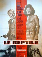 Plakat Kino Original Western Le Reptile - Kirk Douglas - 120 X 160 CM