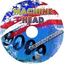 MACHINE HEAD BASS & GUITAR TAB CD TABLATURE GREATEST HITS BEST OF ROCK MUSIC