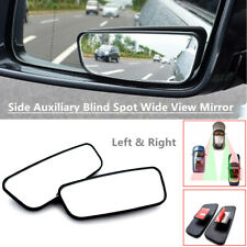 2PCS Car Truck Side Auxiliary Blind Spot Wide Angle Mirror Convex Small Rearview